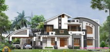 Modern Contemporary Style House Plans