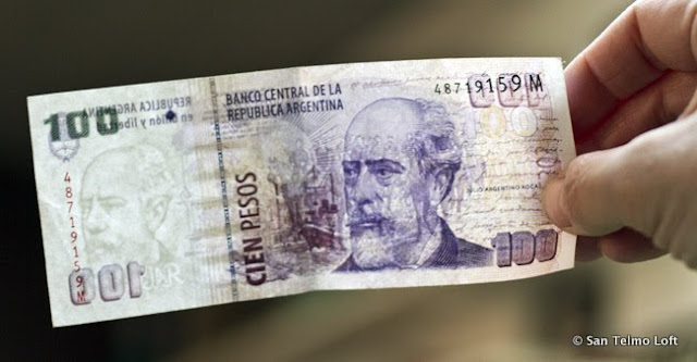 Real 100 Argentine Peso Note
