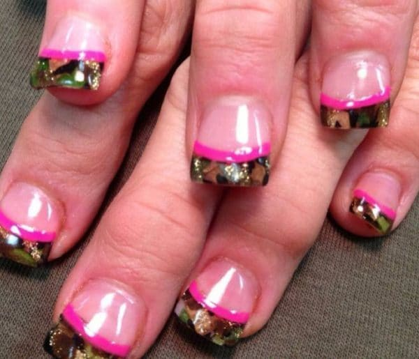 The camouflage nails; - THE BEST CAMOUFLAGE NAIL DESIGNS FOR PRETTY WOMEN Pretty 4