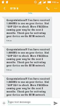 GET FREE 1GB ON MTN - TWEAK THESE IMEI NUMBERS 1