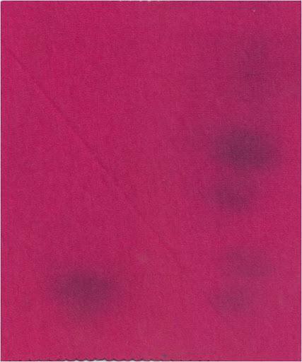 Dye Spot in the fabric