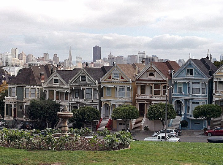 Alamo Square, San Francisco.