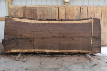 "507 Walnut -6 12/4  x  48"" x  40"" Wide x 10' Long"