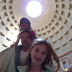 The dome of the Pantheon is amazing.