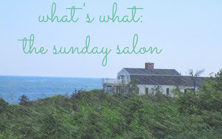 The Sunday Salon--What's What at The 3 R's Blog