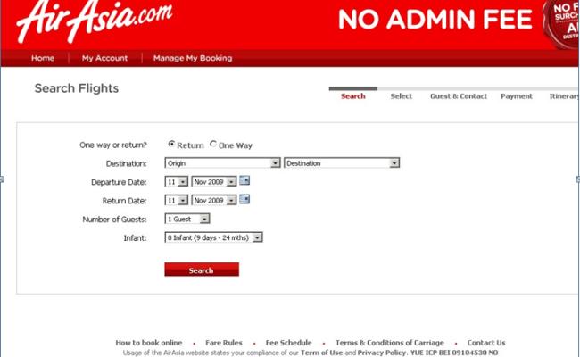 Air Asia Online Booking Tiket Dokter Andalan