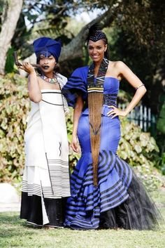 Tswana Traditional Wedding Dresses Pictures Styles 7