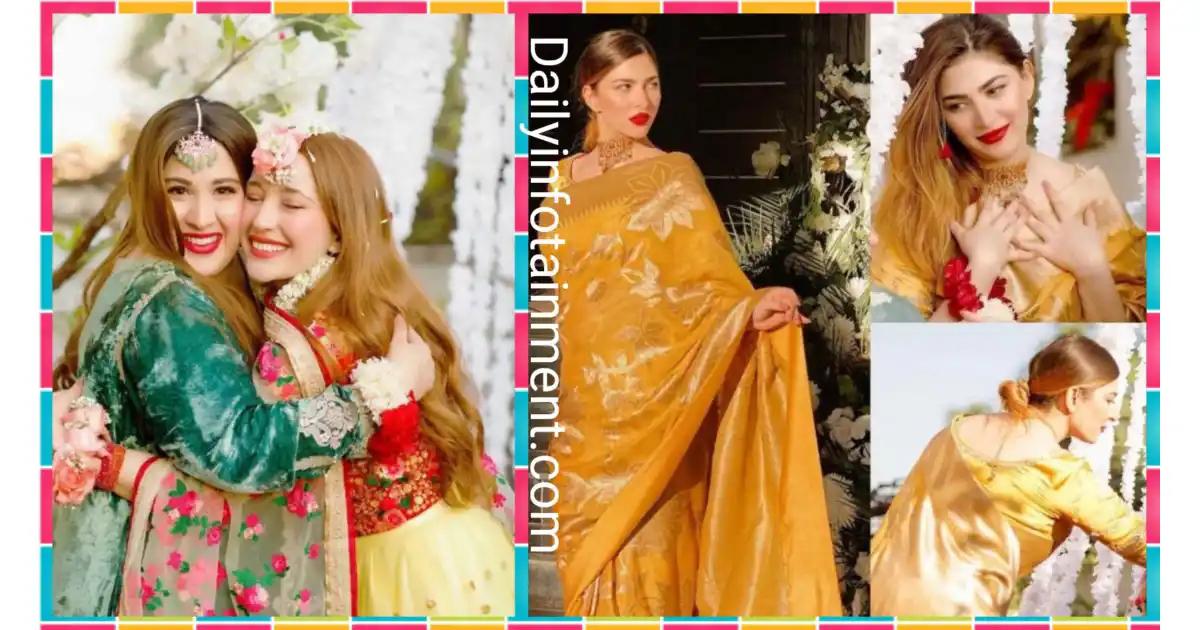 Naimal Khawar Sister Fiza Khawar's Mayun Pictures