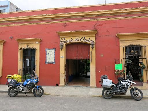 Our hotel (Hotel Posada del Centro) in Oaxaca