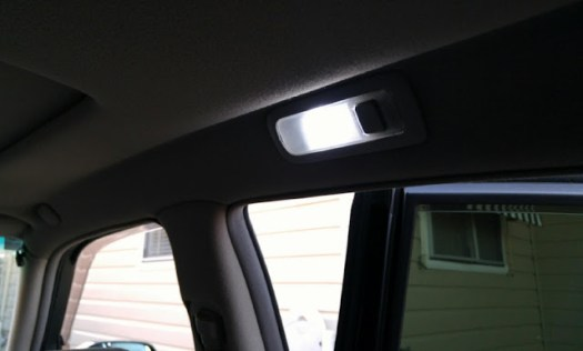 Rear RH Map Light LED