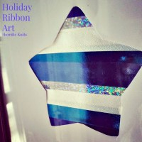 Holiday Ribbon Art
