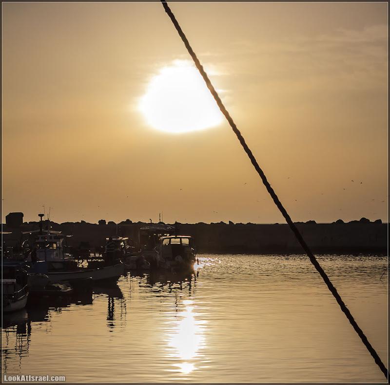 Одно фото / Яффо, порт, закат