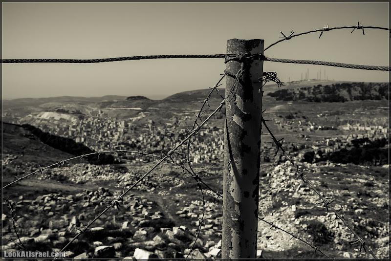 Одно фото / Шхем с вершины Гризим