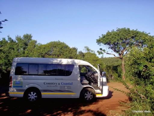 our toyota quantum tour bus