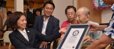 Người Nhật sống lâu nhất thế giới