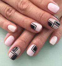 cute pink nail designs for 2017