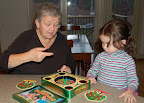 Nov, 2006 - An exciting game of Hi-Ho Cherry-O with Nonni and Izzy