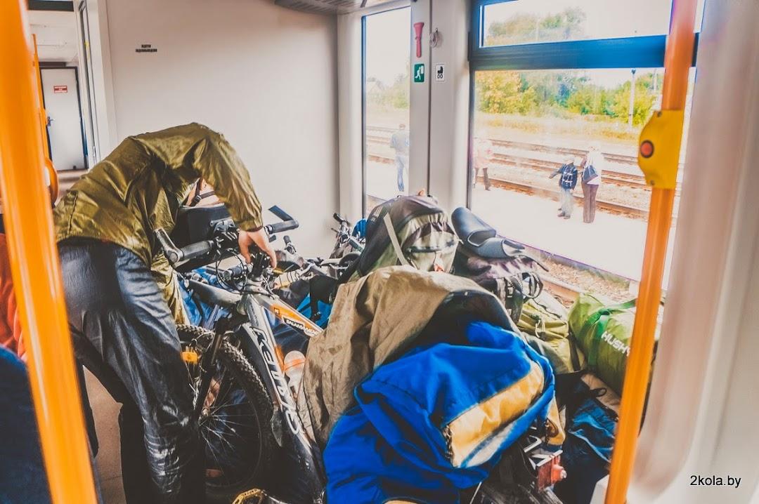 В вагоне ДП 1 есть места для велосипедов