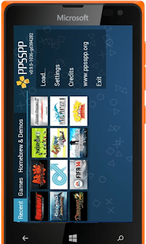 Play PSP Games On Windows Phone, IPhone,BB10 and Symbian Devices 2