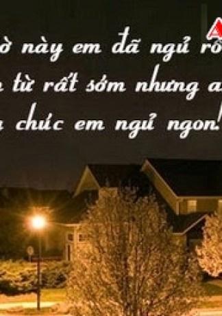 Những Lời Chúc Ngủ Ngon Ngọt Ngào Nhất Dành Cho Người Mình Yêu