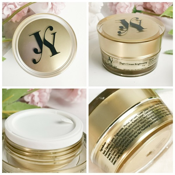 Jayanti Glow Night Cream Brightening