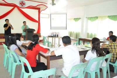 Rey Demit, St. Camillus Official hosts the training.
