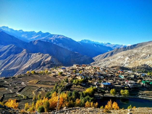 The gorgeous Nako village, Spiti valley, Himachal Pradesh