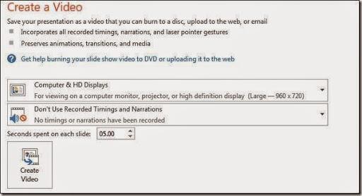 trik membuat video presentasi secara cepat