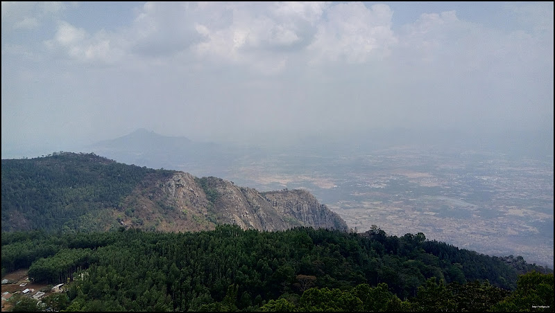 view from pagoda point yercaud