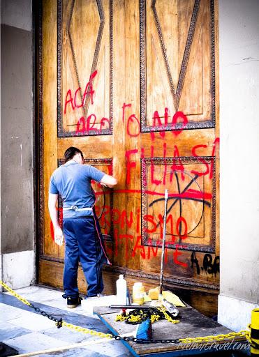 Buenos Aires Vandalism