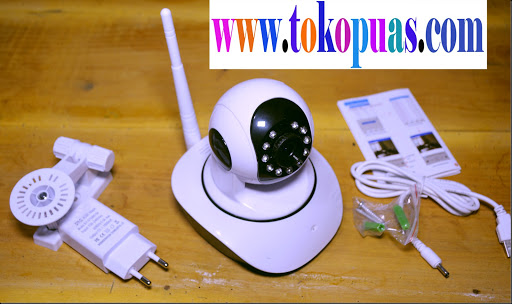 trik review cctv ip camera memory card