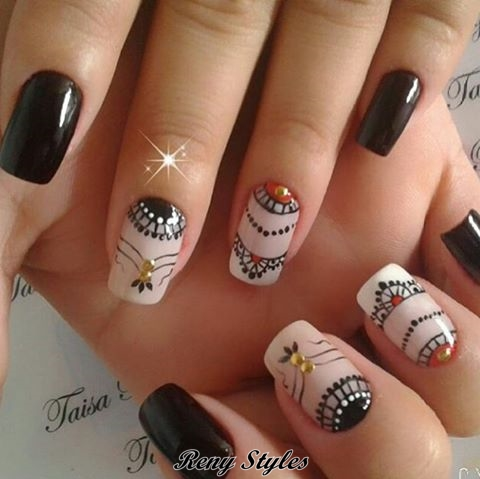 Latest cute nail designs for girls 2017 reny styles are affected their nails in the movies app songs and in advertisements etc today i am advance afore you 16 best attach art designs account of 2017 prinsesfo Choice Image