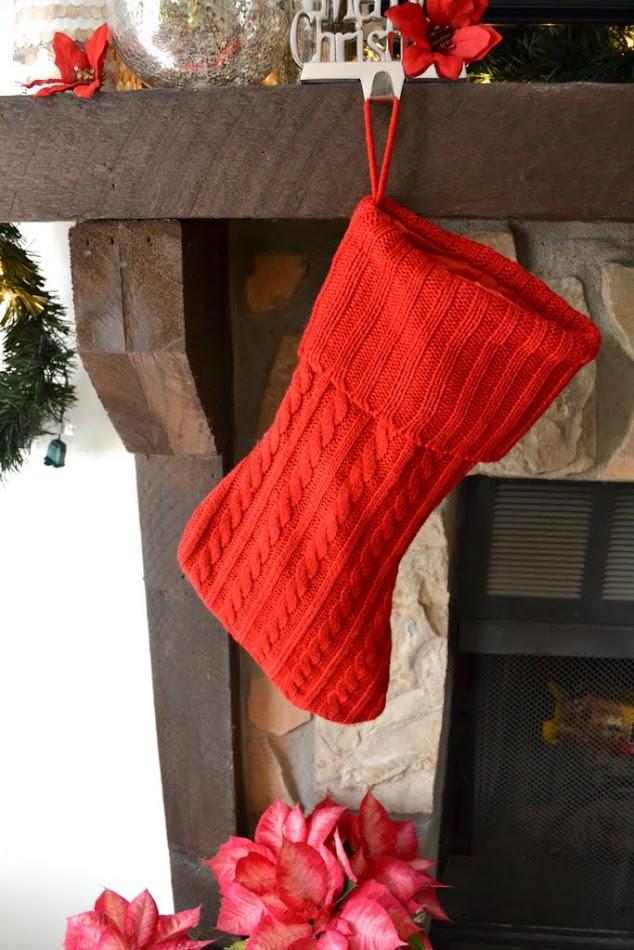 filled stocking