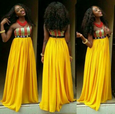 Superb Ankara chiffon styles for ladies