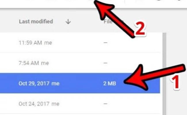 Cara Mengembalikan File Yang Terhapus Di Google Drive Cute766