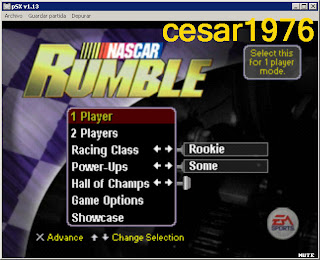 Descargar Gratis: Nascar Rumble [Ntsc][PlayStation One]