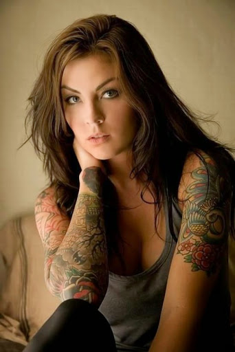 Cute Girl Tattoos