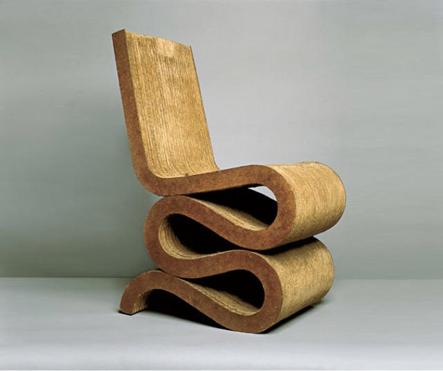 frank gehry cardboard chairs wood high chair ctk contextual studies blog wiggle side material corrugated fibreboard round timber