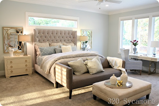 serene master bedroom paint color