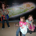 Inside the 3d movie and activity exhibit about Rome.