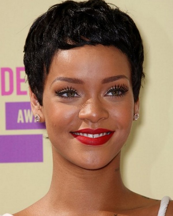 Short Hairstyles For Black Women's 2018-2019 4