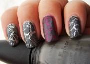 nail art china glaze crackled