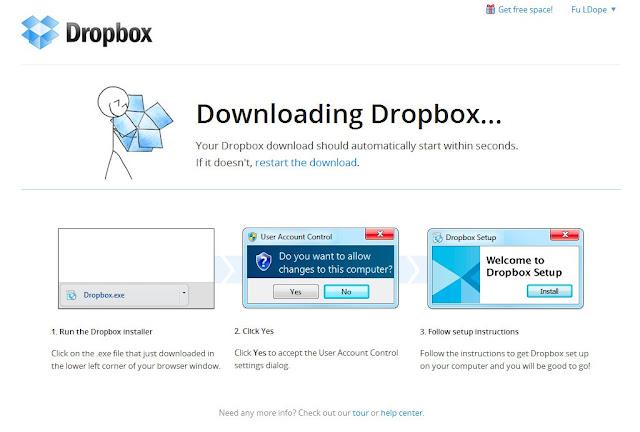 *免費申請帳號、基本入門使用教學:Dropbox 雲端使用教學(一) 3