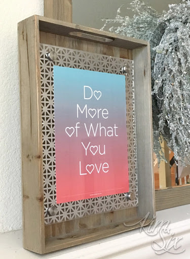 Make Pretty And Modern Floating Frame. With