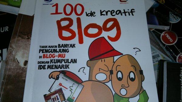 Buku 100 Ide Kreatif Blog