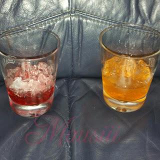 Sirup und Eis