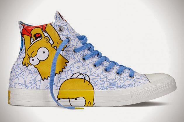 *The Simpsons x Chuck Taylor All Star:辛普森家族這次不吃甜甜圈! 7