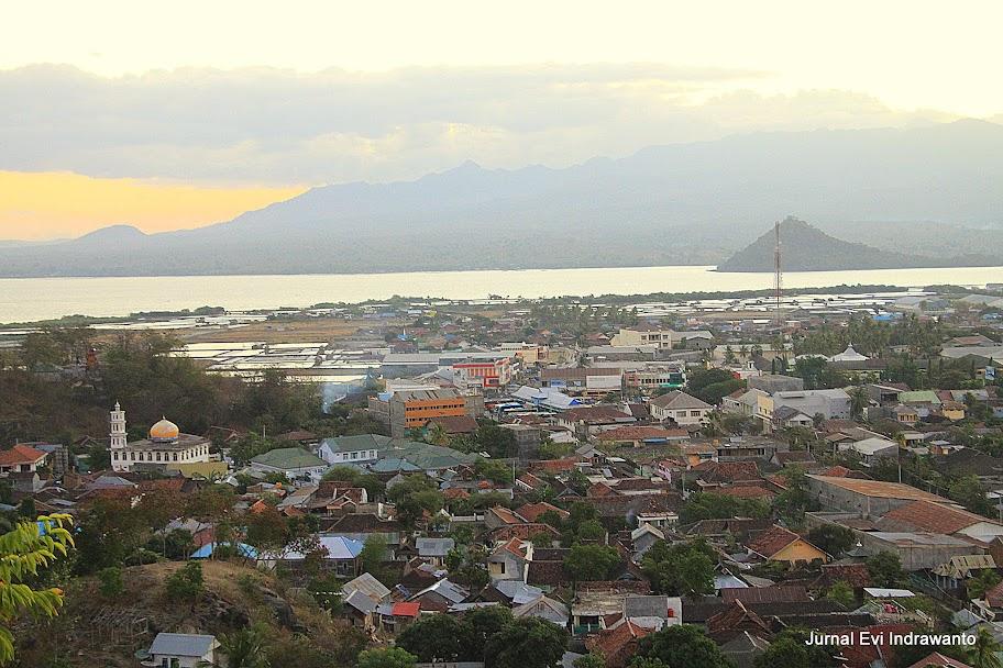 Kota Bima dari Dana Traha