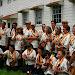 That's me in the baseball cap with my old Fluke ukulele - Royal Hawaiian Ukulele Band performance in SF