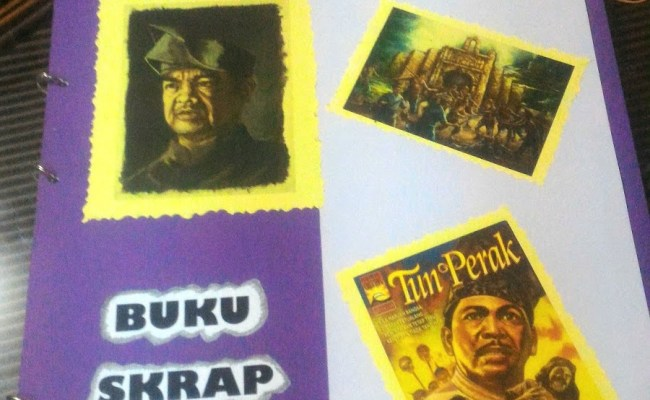 Buku Skrap Sejarah Tahun 4 Tokoh Terbilang Cute766